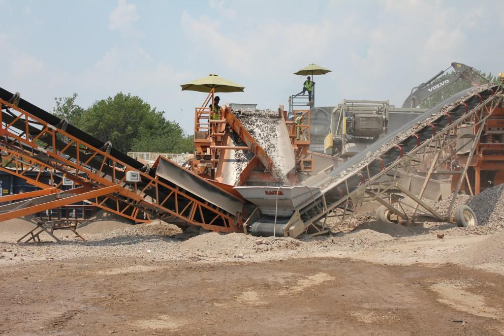 Faztec Fill Material Transfer Station